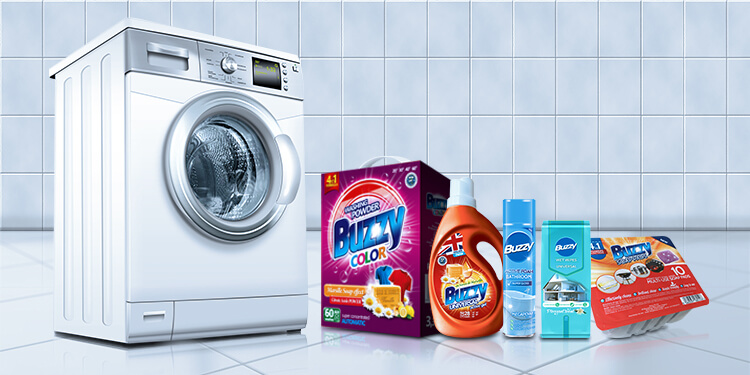 What distinguishes Buzzy detergents?