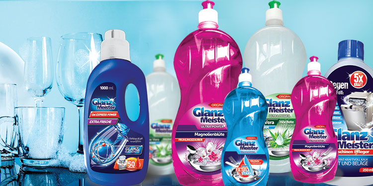 What distinguishes GlanzMeister cleaning products?