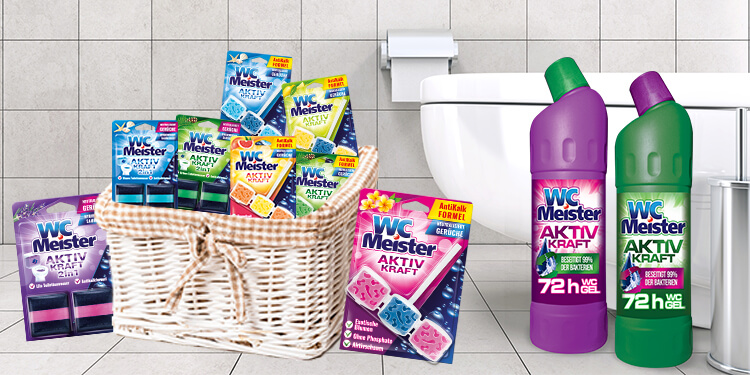 What distinguishes WC Meister cleaning products?