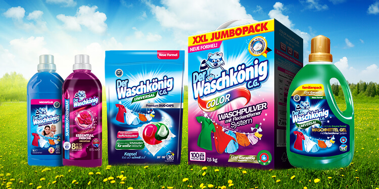 What distinguishes Waschkonig detergents?
