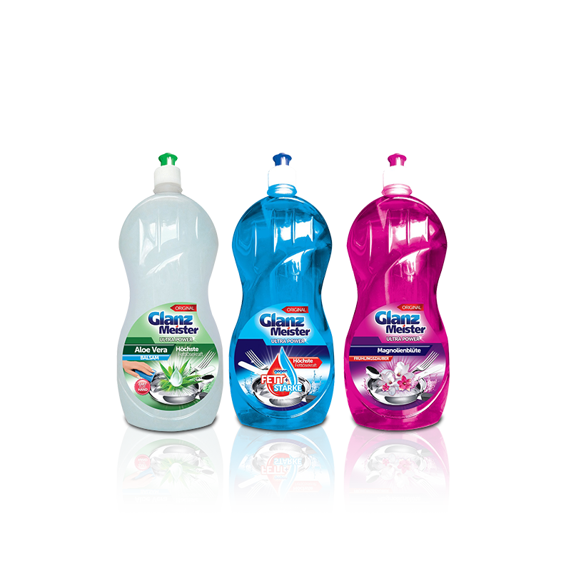GlanzMeister dishwashing liquids