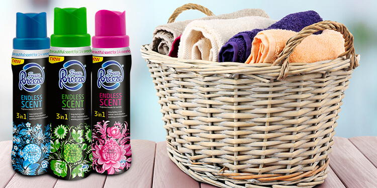 Laundry Fragrance Booster Freeze Breeze