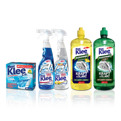 Herr Klee C.G. cleaning products