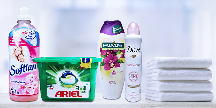 What distinguishes our cleaning products and cosmetics?
